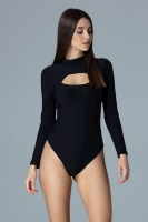 Body mulat maneca lunga Model 126189 Figl negru