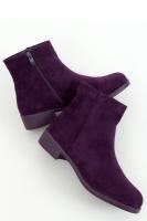 Ghete clasice fara toc Model 157964 Inello violet