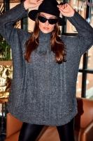 Helanca iarna tricot Model 150424 Lemoniade gri