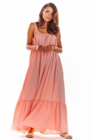 Rochie de zi model 133697 awama roz