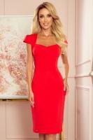 Rochie de zi model 146429 Numoco rosu