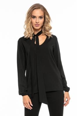 Bluza cu funda Model 121280 Tessita negru