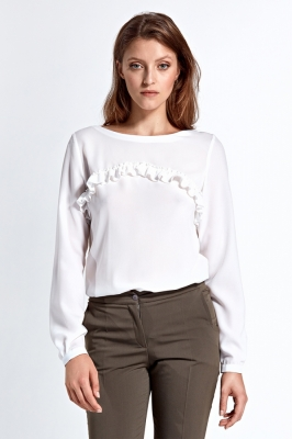 Bluza model 123647 Colett bej