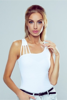 Bluza model 144066 Eldar alb