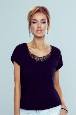 Bluza model 146129 Eldar negru