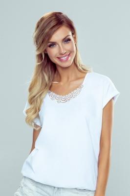 Bluza model 146130 Eldar alb