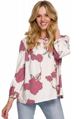 Bluza imprimeu floral Model 153797 Makover multicolor