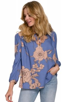 Bluza imprimeu floral Model 153798 Makover multicolor