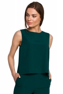 Top fara maneci Model 154103 Style verde