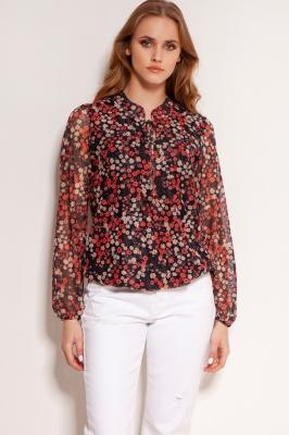 Bluza model 154551 Lanti rosu