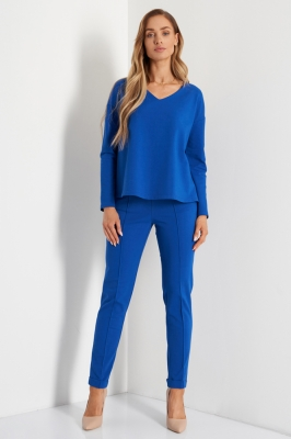Bluza eleganta Model 158059 Lemoniade albastru