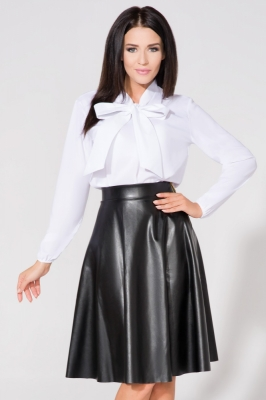 Bluza cu funda Model 61676 Tessita alb