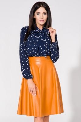 Bluza cu funda Model 61679 Tessita Bleumarin