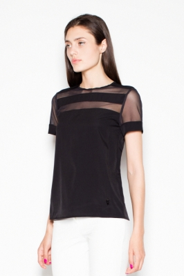 Bluza model 77561 Venaton negru