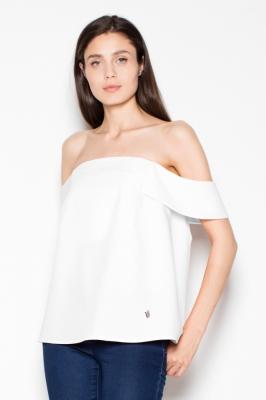 Bluza cu umerii goi Model 77567 Venaton bej