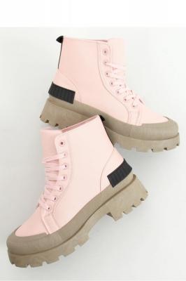 Bocanci trekking model 158161 Inello roz
