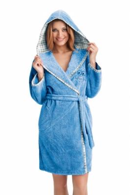 Camasa de noapte model 123683 Dorota albastru