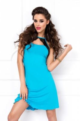 Camasa sexy model 150808 DKaren albastru