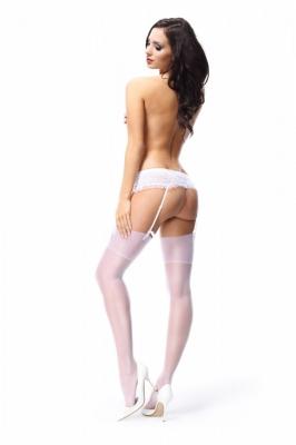 Ciorapi model 109749 MissO alb