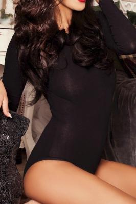 Body elegant maneca lunga Model 137610 Kostar negru