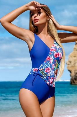 Costum de baie intreg model 132800 Lorin albastru
