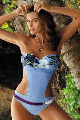 Costum de baie intreg model 82096 Marko albastru
