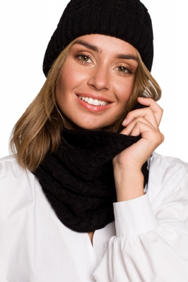 Esarfa Infinity model 157564 BE Knit negru