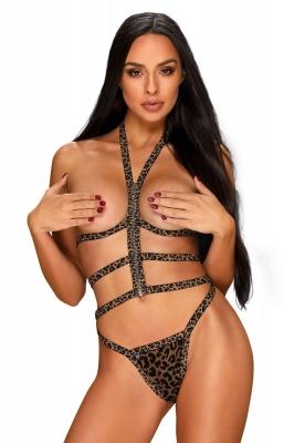 Komplet Model Tigrita 2cz Set Beige/Black - Obsessive maro