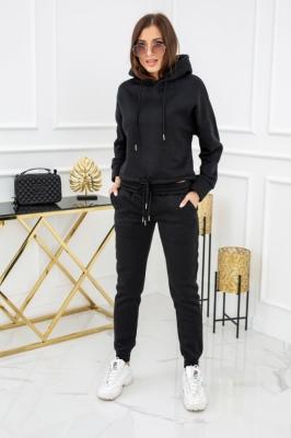 Trening fashion cu gluga Model 150452 Vittoria Ventini negru