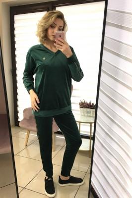 Trening fashion tip catifea Model 150513 Vitesi verde