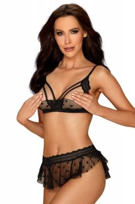 Lenjerie sexy completa model 151709 Obsessive negru