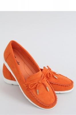 Mocasini model 151408 Inello portocaliu