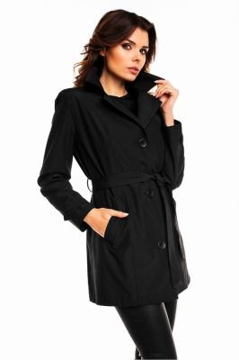 Palton model 63548 Cabba negru