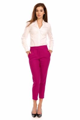 Pantaloni eleganti Model 118961 Cabba roz