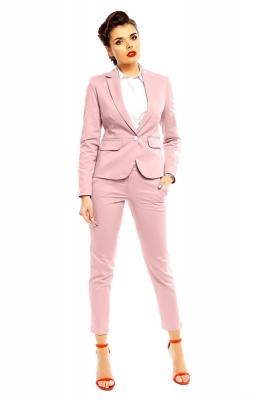 Pantaloni eleganti Model 142417 Cabba roz