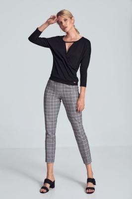 Pantaloni eleganti Model 150783 Figl gri
