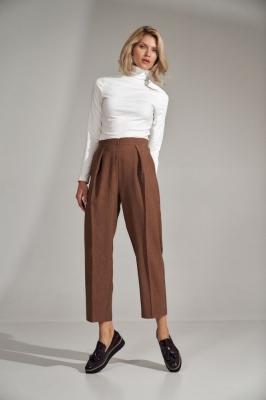 Pantaloni eleganti Model 150791 Figl maro