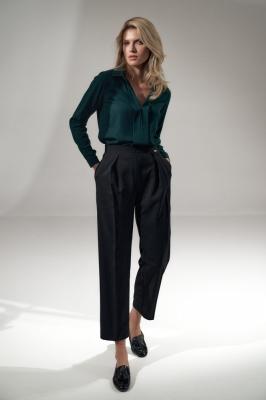 Pantaloni eleganti Model 150792 Figl negru