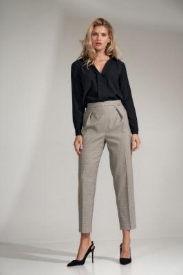 Pantaloni eleganti Model 150793 Figl gri