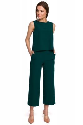 Pantaloni culotte Model 154107 Style verde