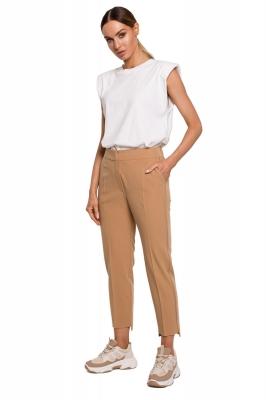 Pantaloni de dama model 157361 Moe bej