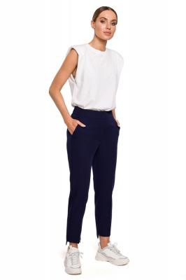 Pantaloni de dama model 157362 Moe Bleumarin