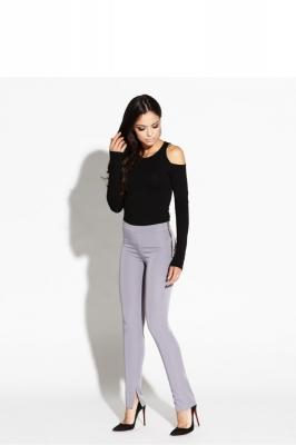 Pantaloni de dama model 68289 Dursi gri