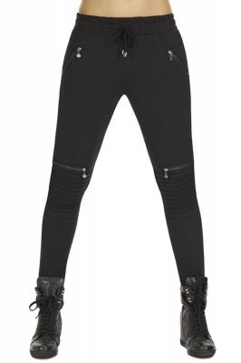 Pantaloni lungi model 125945 Bas Bleu negru