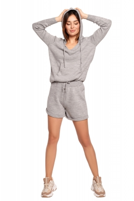 Pantaloni scurti model 154042 BE Knit gri
