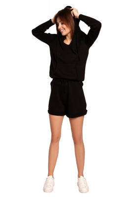 Pantaloni scurti model 154045 BE Knit negru