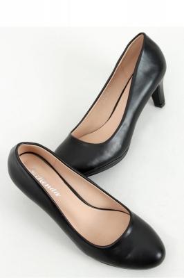 Pantofi cu toc si platforma model 158213 Inello negru