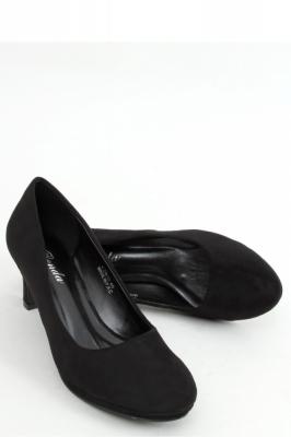Pantofi cu toc si platforma model 158215 Inello negru
