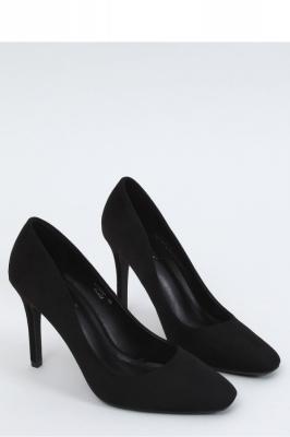 Pantofi cu toc subtire (stiletto) model 153398 Inello negru
