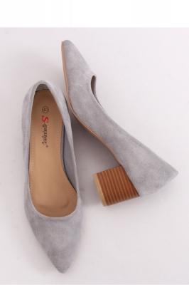 Pantofi dcu toc gros model 143527 Inello gri